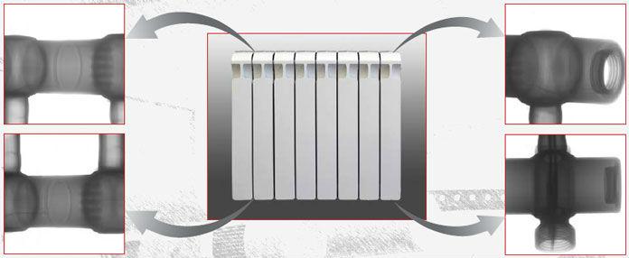 Неразборная конструкция радиаторов MONOLIT